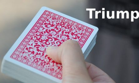 How to do the triumph card trick